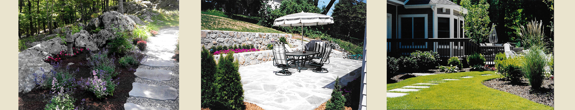 Three Yards With Polished Landscapes